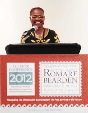 Renee Franklin, director of Community Partnerships at the St. Louis Art Museum. Photo Bridget Cooks.