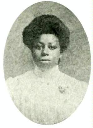 Molded hair style of young woman in the 1894 class of Hampton Institute. Photo: Hampton University Museum and Archives
