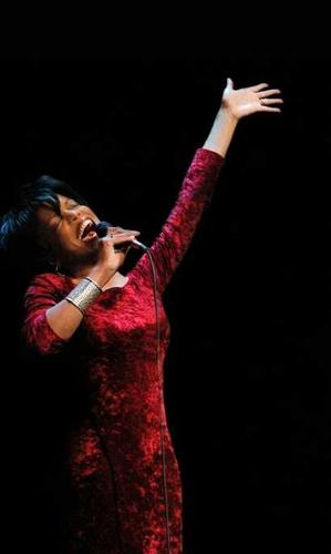 Nneena Freelon always brings the wow factor.