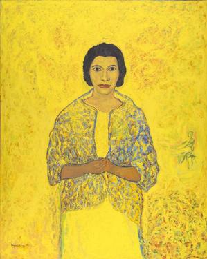 Beauford Delaney, Marian Anderson, 1965, oil on canvas, 63 x 51½, J. Harwood and Louise B. Cochrane Fund for American Art