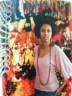 Maya Freelon Asante. Photo courtesy of the artist