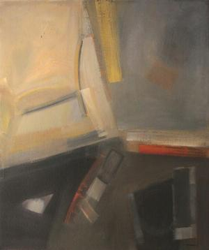 Merton D. Simpson, untitled painting, 1963.  Photo courtesy Merton Simpson Gallery