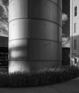 Cylinder.  Photo by Phil Freelon. Courtesy Craven Allen Gallery