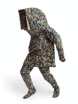 Nick Cave, Soundsuit, 2009. Mixed media. James Prinz Photography, Chicago. Courtesy of Nick Cave and the Jack Shainman Gallery, New York.