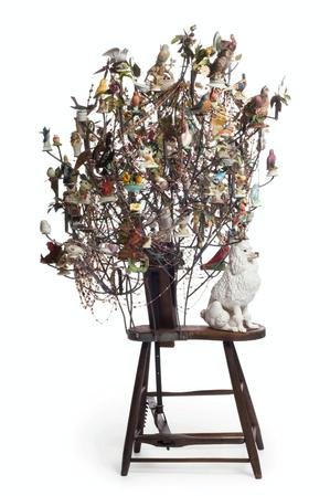 Nick Cave, Sojourn, 2012. Mixed media. James Prinz Photography, Chicago. Courtesy of Nick Cave and Jack Shainman Gallery, New York.