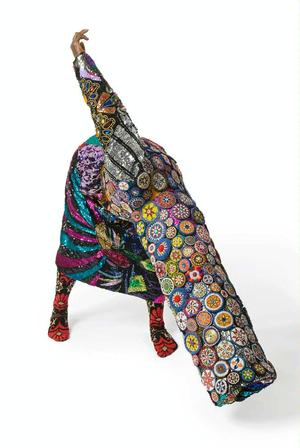Nick Cave, Soundsuit, 2008. Mixed media. James Prinz Photography, Chicago. Courtesy of Nick Cave and the Jack Shainman Gallery, New York.