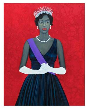 Amy Sherald, Welfare Queen, 2012, oil on canvas, 54x43. Courtesy of Galerie Myrtis.