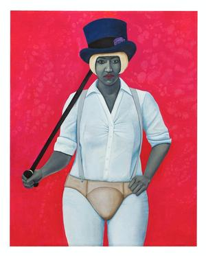Amy Sherald, Madame Noire.  Courtesy of Galerie Myrtis.