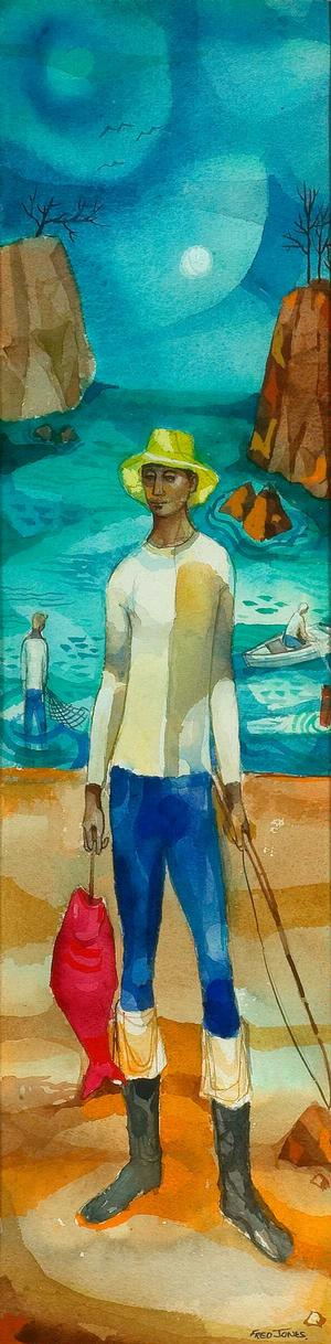 The Fisherman, Collection of Dianne Whitfield-Locke.