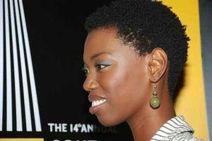 South African singer, Lira. She's also shown in the thumbnail cover image for this article. Lira performed at the Obamas' 2013 inaugural ball.