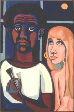 Artist's Model, American People series © Faith Ringgold