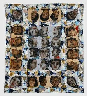 Echoes of Harlem quilt © Faith Ringgold
