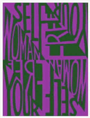 Woman Free Yourself/Poster 1971, offset 23 x 18