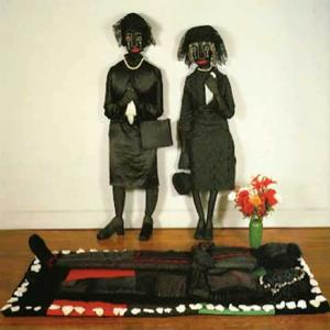Wake and Resurrection of the Bicentennial Negro © Faith Ringgold