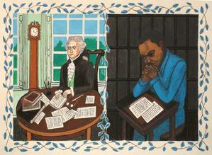 llustration from Declaration of Independence show ©Faith Ringgold