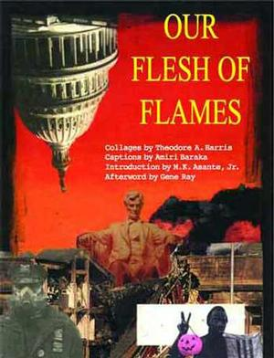 Book cover, Our Flesh of Flames, 2008.