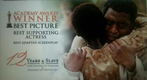 Fox Searchlight's ad for 12 Years a Slave