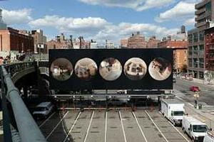 Demetrius Oliver's Jupiter at the Highline. Courtesy Friends of the Highline