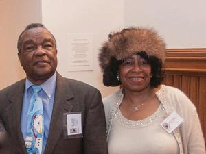 David Driskell and Dianne Whitfield-Locke at Curator's Tea. Photo: Greg Adams