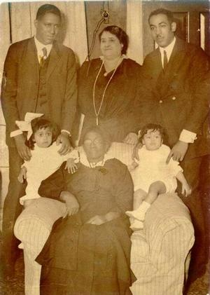 Maggie Walker with her mother, sons and granddaughters, c. 1920