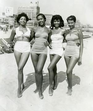 Atlantic City, Four Women , c.1960s, John W. Mosley