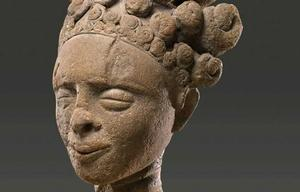 Terra cotta head from ancient Nigerian Nok culture