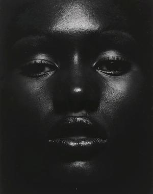 Anthony Barboza, Grace Jones, ca., 1970, gelatin silver print, 13 5/8 x 10 5/8