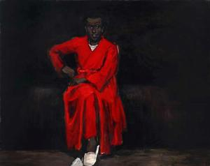 Lynette Yiadom-Boakye, Any Number of Preoccupations, 2010. Wedge Collection