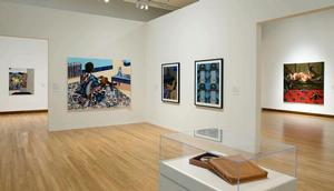View of Building the Contemporary Collection: Five Years of Acquistions, 2011, Nasher Museum of Art at Duke University