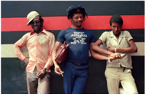 Photo from Reggae or Not: The Birth of Dancehall Culture in Jamaica and Toronto exhibition, Wedge Curatorial Projects