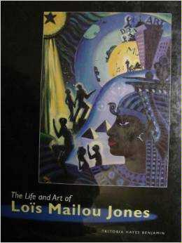 Book cover: Tritobia Benjamin's biography of Lois Mailou Jones