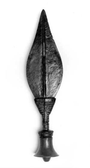 Kuba artist, 17th century knife. Collection of Hampton University Museum