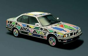 1991 BMW 525i painted by Esther Mahlangu