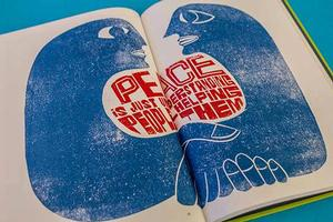 Pages from Paul Piech book edited by Zoe Whitley