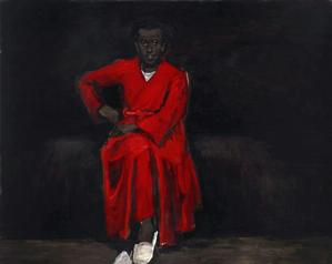 Lynette Yiadom-Boakye Any Number of Preoccupations, 2010 oil on canvas 63 x 78 3/4