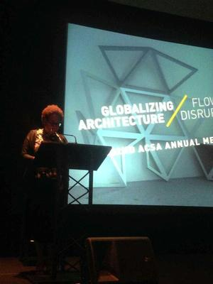 Mabel O. Wilson at the Globalizing Architecture conference