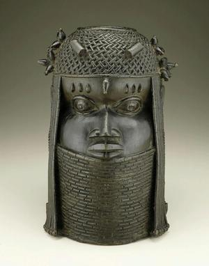 Edo artist, Benin kingdom court style, Nigeria,  18th century,  National Museum of African Art, Smithsonian Institution