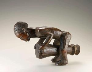 Mbala artist, Democratic Republic of the Congo Male figure Late 19th to early 20th century, National Museum of African Art