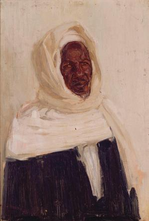 Henry Ossawa Tanner, United S  Study of an Arab  1897  Collection of Camille O. and William H. Cosby Jr.