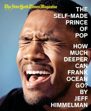 NYT Frank Ocean cover design by Arem Duplessis