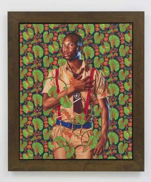 Kehinde Wiley George Digby, 2nd Earl of Bristol, 2014 Roberts & Tilton