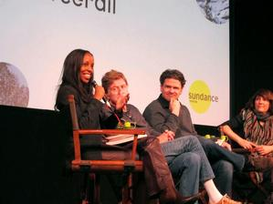 Sarah Lewis, Robert Redford and others at Sundance Institute, 2014.