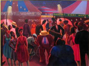 Archibald Motley Jr. The Carnival, 1937, Collection of Howard University Gallery of Art