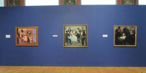 Archibald Motley: Jazz Age Modernist installation view at Chicago Cultural Center