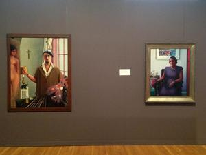 Archibald Motley: American Modernist installation view at Chicago Cultural Center