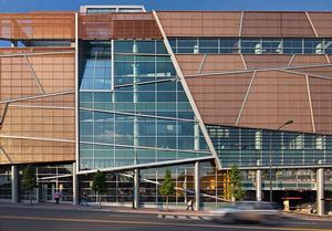 Harvey B. Gantt Center for African-American Arts + Culture. Photo: Mark Herboth Photography