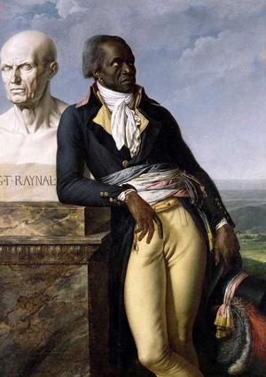 Anne Louis Girodet de Roucy-Trioson, Portrait of Jean-Baptiste Belley,  oil on canvas, 1804
