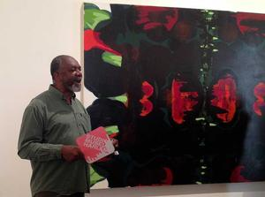1985-86 Studio Museum in Harlem artist in residence Kerry James Marshall at the 2015 Venice Biennale's international art exhibition. Photo: Erin Dooley