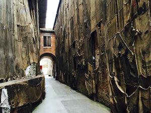 16-century warehouse that serves as a Biennale exhibition space