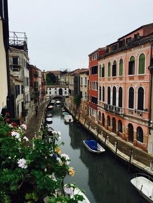 View from my balcony (in Venice). Photo: Michelle-Renee Perkins